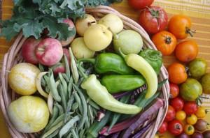 New Mexico veggies