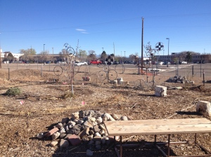 Kirtland Elementary School Garden. Photo by author