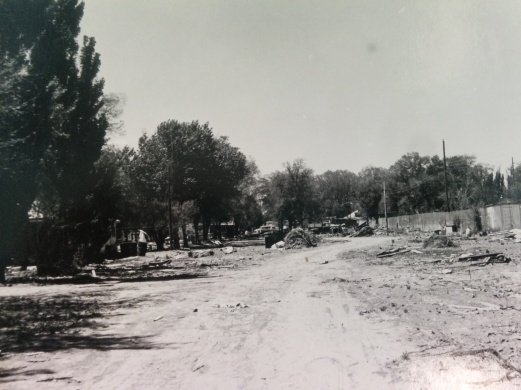 View of original junkyard - photo by Jeffrey Finer
