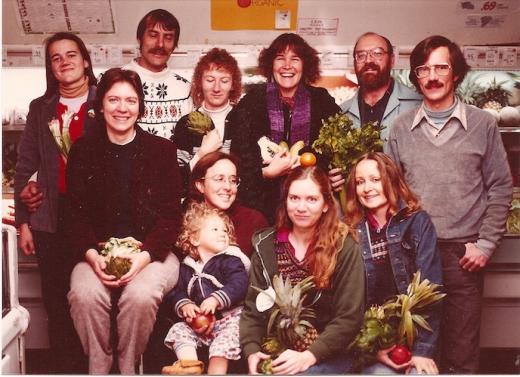 Ochá staff circa 1982 - Photo by Greg Johnston