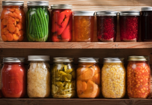 Canned Veggies, by Erika Siegal.