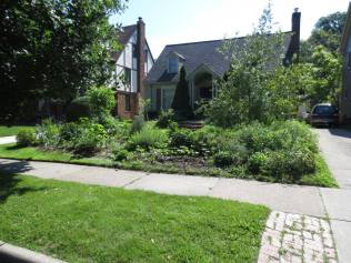 After the Cleveland Food not Lawns project: http://foodnotlawnsinternational.blogspot.com/search/label/lawns