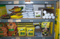 Variety of vermicast products in retail stores