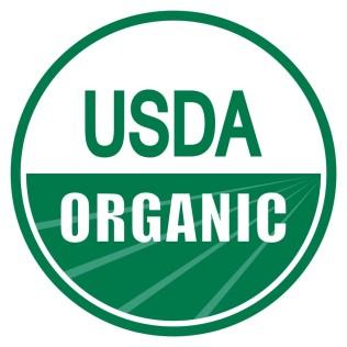 USDA organic label