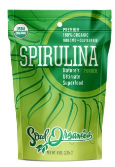 Soul Organic Spirulina Powder